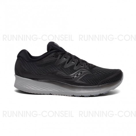 SAUCONY RIDE ISO 2 Homme - Blackout