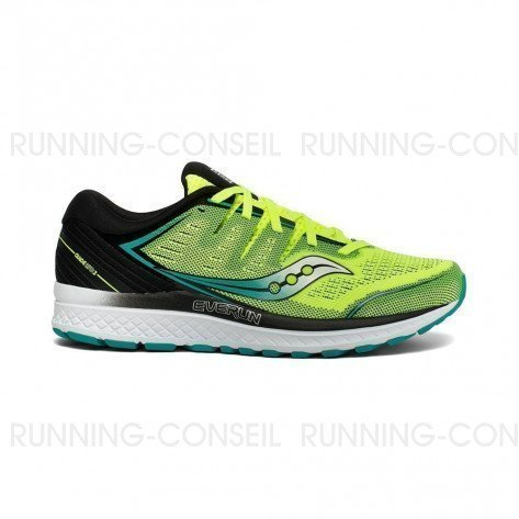 SAUCONY GUIDE ISO 2 Homme | CItron / Black