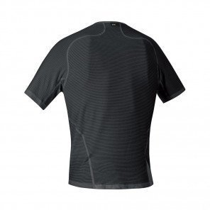 GORE® BASE LAYER MAILLOT MANCHES COURTES HOMME | BLACK