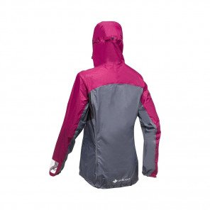 RAIDLIGHT VESTE IMPERMEABLE TOP EXTREME MP+®  FEMME | GARNET / GREY